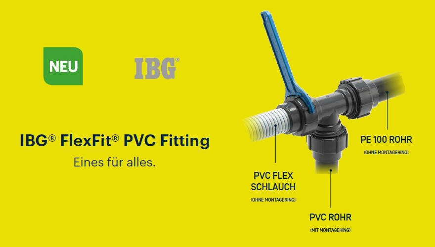 IBG FlexFit Fittinge Ø 50 mm