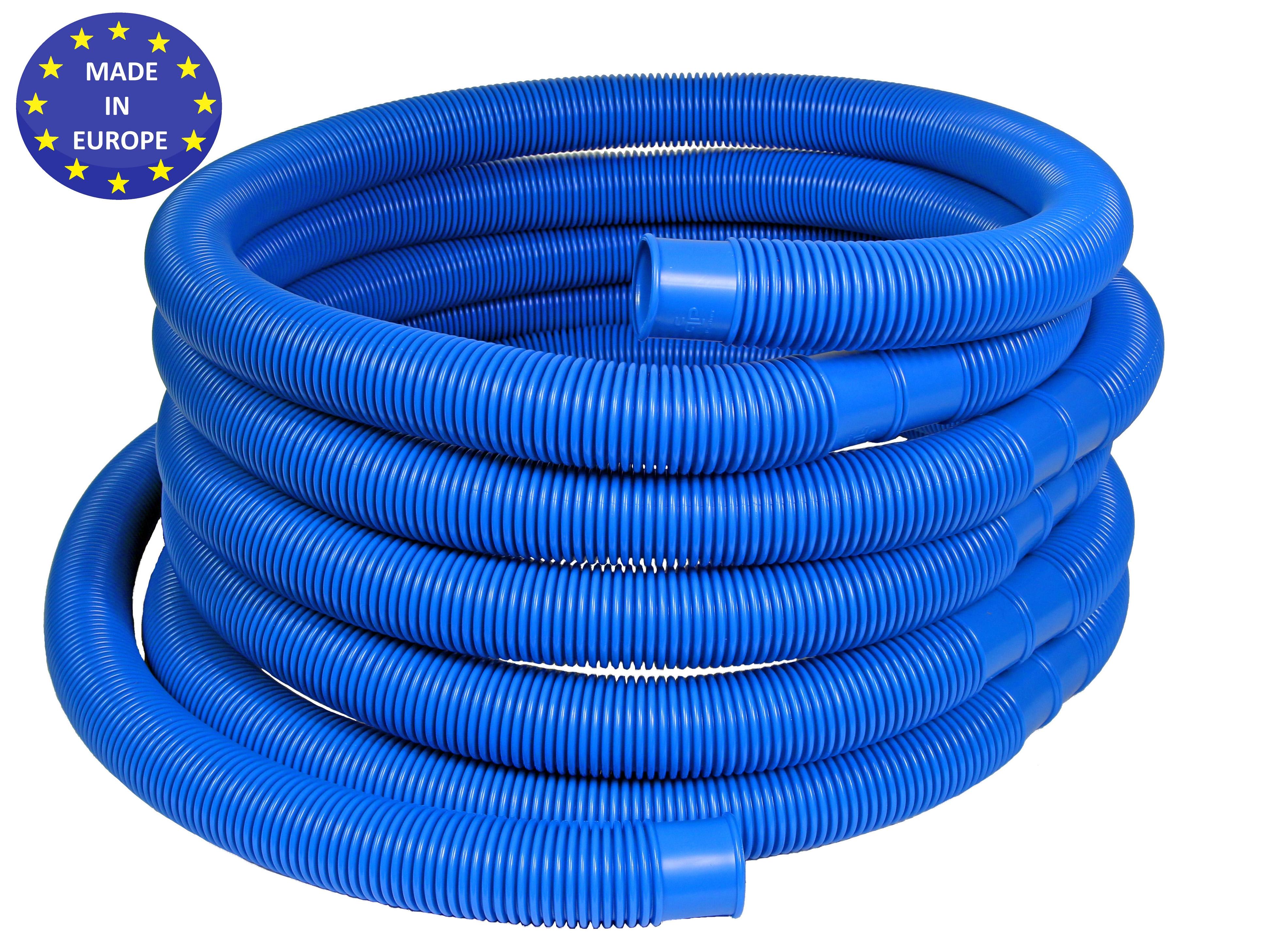 schwimmbadschlauch paket blau 38mm l nge 16 50m pe pool. Black Bedroom Furniture Sets. Home Design Ideas