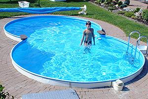 Aufbauanleitungen paradies pool for Stahlwandbecken achtform