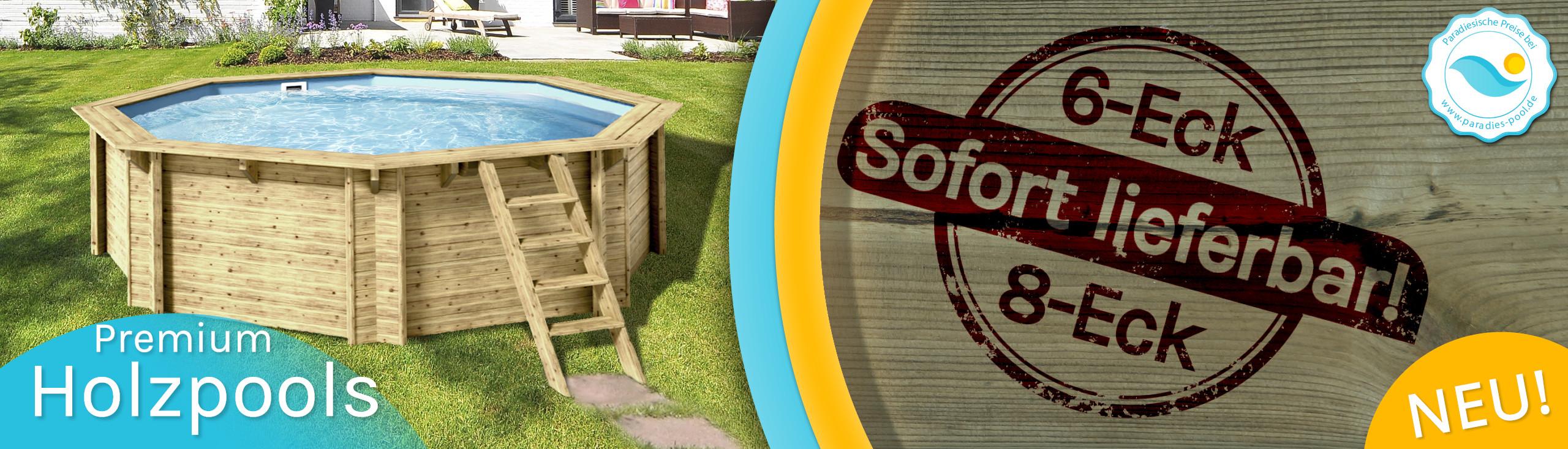 Premium Holzpools bei Paradies Pool