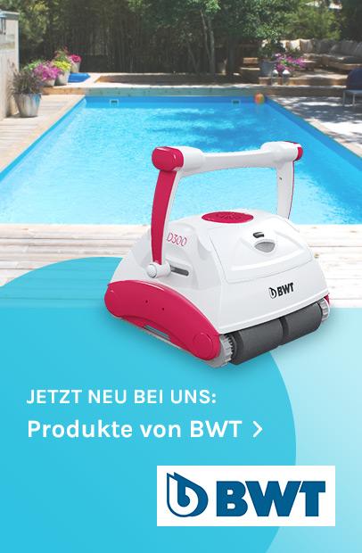 Jetzt neu bei uns: Produkte von BWT